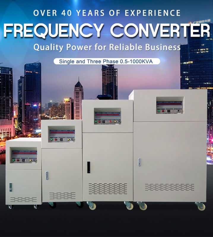 Small Custom Electric Frequency Converter 3 Phase Input 3 Phase Output